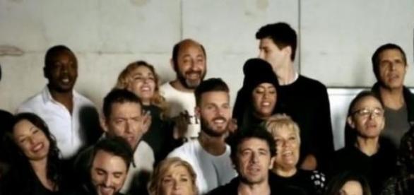 Image du clip «Toute la vie» des Enfoirés Youtube