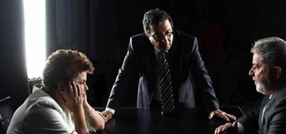 João Santana entre Lula e Dilma: o guru do PT