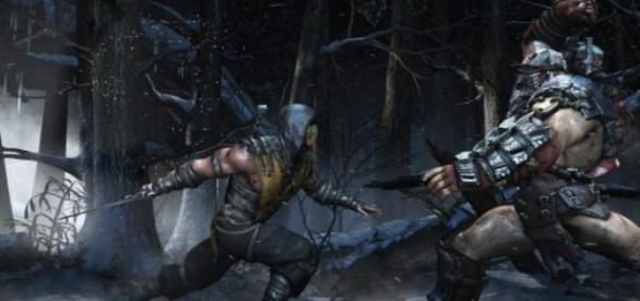 Scorpion vs Ferra & Torr em Mortal Kombat X