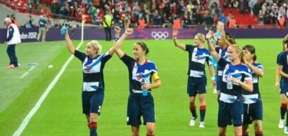 Women's football was popular at London 2012