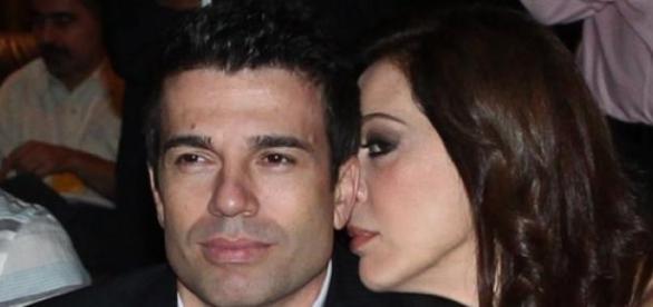 Boa relação do marido com os filhos alegra atriz