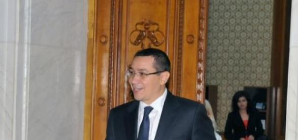Victor Ponta, ajuns in Parlament!