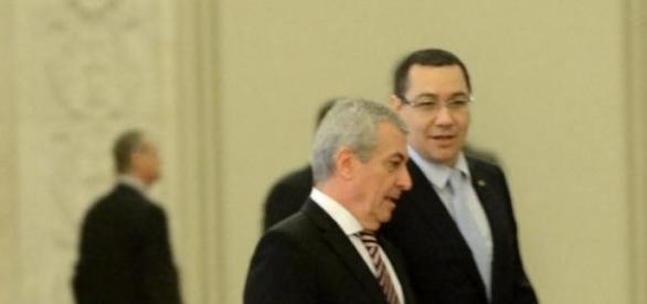 Victor Ponta și Tăriceanu