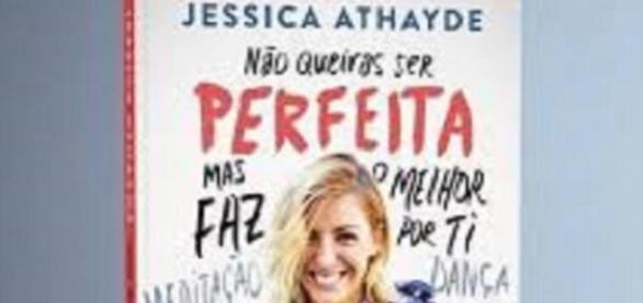 Capa do livro de Jessica Athayde