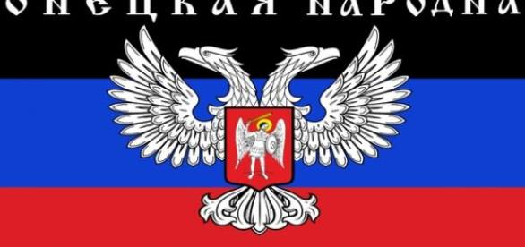 Flaga Donieckiej Republiki Ludowej