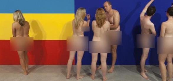 Galeria receberá convidados nus na quarta e quinta