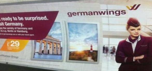 Niefortunna reklama Germanwings