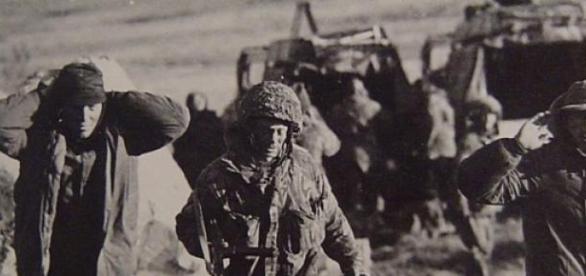 soldados argentinos tomados prisioneros