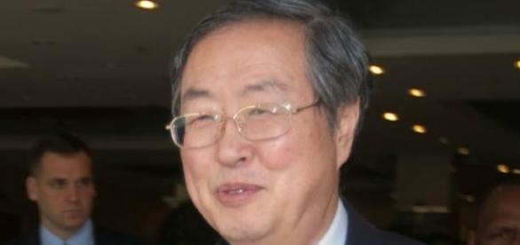 Zhou Xiaochuan, director do Banco Central Chinês.