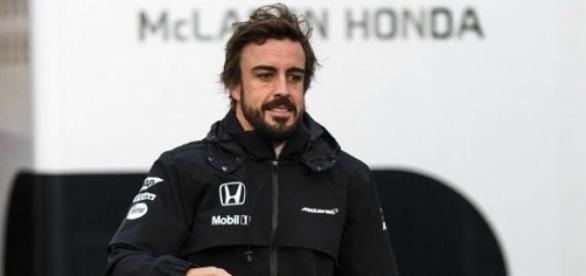Fernando Alonso na McLaren-Honda