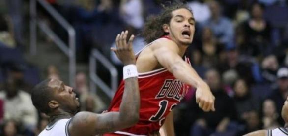 Joakin Noah aux couleurs des Chicago Bulls