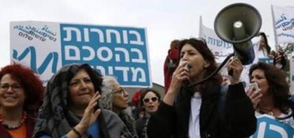 Les femmes veulent un accord avec la Palestine.