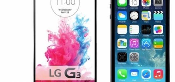 LG G3 y iPhone 6, los dos mejores smartphones