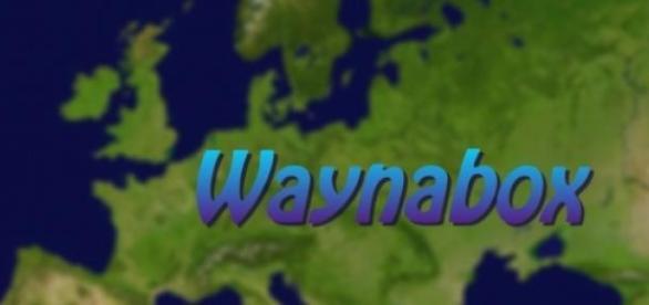 Mapa de Europa con logo de Waynabox.