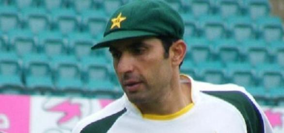 Misbah-ul-Haq led his team to victory over UAE