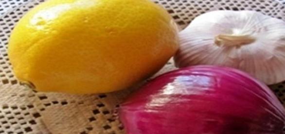 3 x C czyli:cytryna, cebula, czosnek.fot.J.Lampert