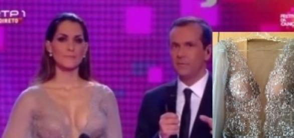 Joana Teles, Jorge Gabriel e o vestido