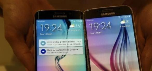 Samsung présente une édition de son Galaxy S6.