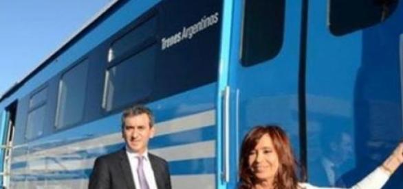 Cristina Fernández  y Florencio Randazzo