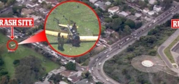 Destreza do piloto evitou tragédia maior.
