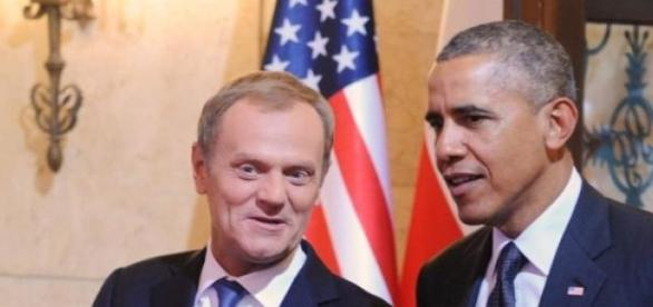 Donald Tusk si Barack Obama