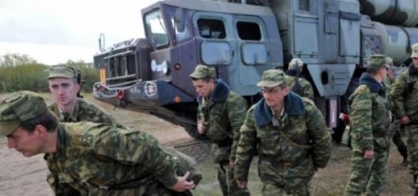 Exercitii militare ale Federatiei Ruse