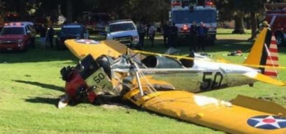 Ford fue atendido pronto en el sitio del accidente