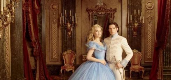 Cinderella und Prinz Charming.