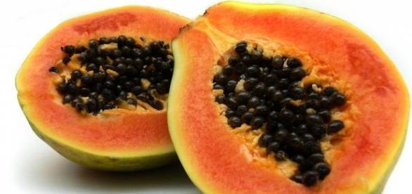 sanatate cu fructul de Papaya