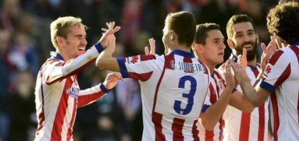 Ateltico  a remizat cu Valencia