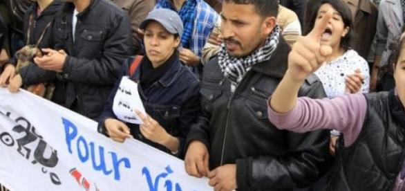 Des milliers de personnes ont manifesté à Rabat.