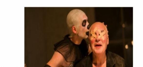 Faustul lui Purcarete. Imagini din sala.