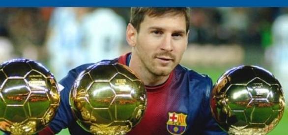 Messi scored his 24th La Liga hat-trick