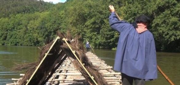 Le train de bois pour Paris @Eric Le Seney