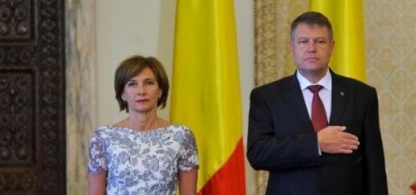 Presedintele Iohannis si Prima Doamna