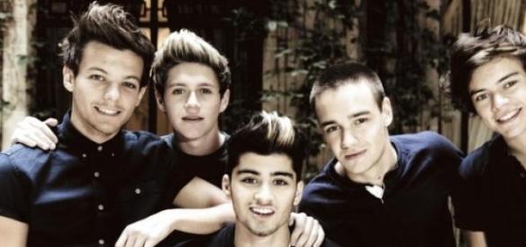"""Da waren """"One Direction"""" noch zu fünft."""