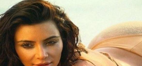Kim Kardashian: Back to the roots.