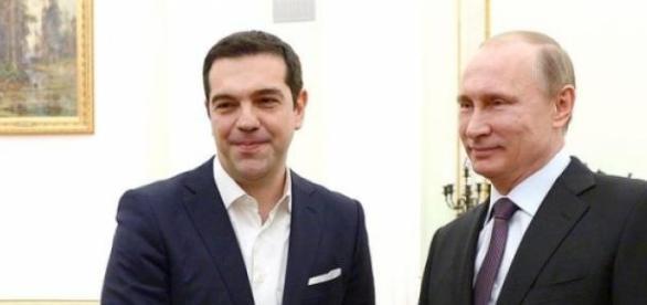 Alexis Tzipras si Vladimir Putin