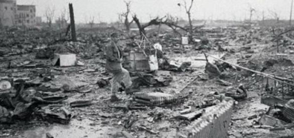 Hiroshima, dupa bombardamentul nuclear
