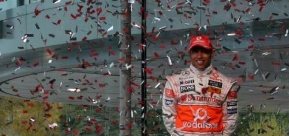 Lewis Hamilton, le plus rapide en Chine.