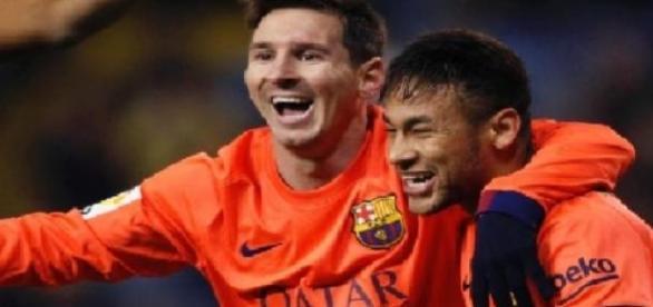 Neymar e Messi marcam mas o Barça sede o empate