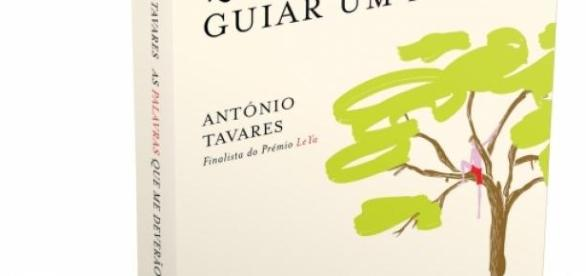 Capa do romance de António Tavares.