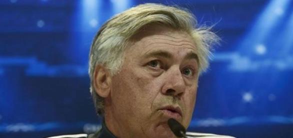 Carlo Ancelotti en rueda de prensa. Fuente: RTVE