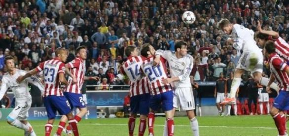Gol de Sergio Ramos en la Final de Lisboa de 2014