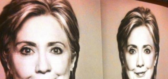 Hat Hillary Clinton WikiLeaks Logo kopiert?