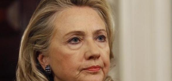 Hillary Clinton se présente pour les élections.