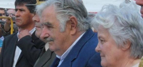Lucía Topolansky y José Mujica