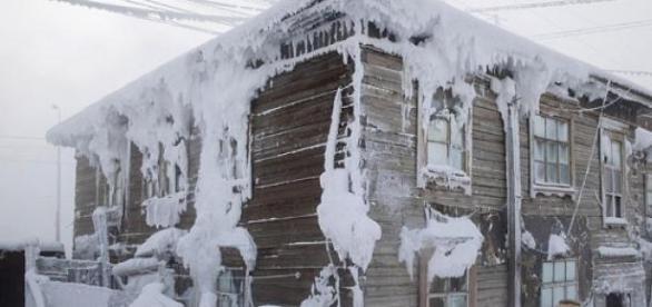 o casa inghetata din Yakutsk