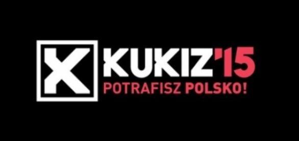 Plakat wyborczy Pawła Kukiza, mat. prasowy