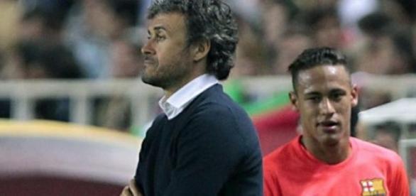 Wściekły Neymar w meczu z Sevillą
